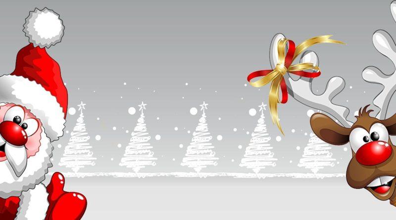 Mundschutz mit Weihnachtsmotiv | Rentier | Weihnachtsmann | Motive